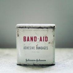 Tin Band Aid tins