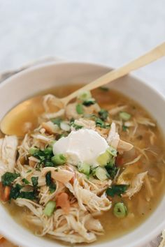 Green Chili, Chicken Soup Recipe - Cooking with Confetti Chicken Soup Recipes, Crockpot Recipes, Cooking Recipes, Green Chili Chicken, Chili Soup, Anti Inflammatory Recipes, Boneless Skinless Chicken, Dishes, Healthy
