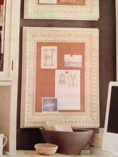 DIY Combination Chalk And Cork Board | Kitchen Makeover | Pinterest | Cork  Boards, Cork And Chalk Paint