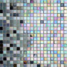 MOSAICOS LUSTRE: LUSTRE GRIS MIX 33x33 cm