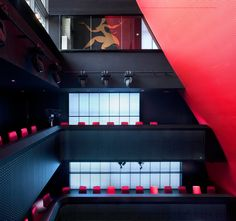 EL MOLINO CAF-THEATRE, BARCELONA  super-sleek, futuristic restyling for iconic cultural institution...