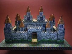 Top 3 Castle Papercraft Cube style castle papercraft, that's what you can find on this papercraft. Therefore, it's easy to assembly. However, once it's finished, it still looks beautiful and cool. Especially, if you really building type paper model lover, this is one of worth papercraft you can assembly and add to your collection.   - pinned from original site
