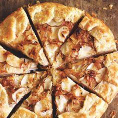 Recipes | Potato, Onion, and Gruyère Galette | Sur La Table (sub with grain-free tart)