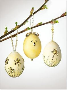 Sparklize your Easter eggs!