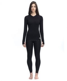 "SAINT Women's Kevlar Shirt ""Women's Baselayer Longsleeve"". Protective underwear for female motorcycle riders."