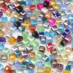 Top quality Square shape Upscale Austrian crystal beads Transparent beads quadrate ball 2mm 200pcs supply bracelet Jewelry H500