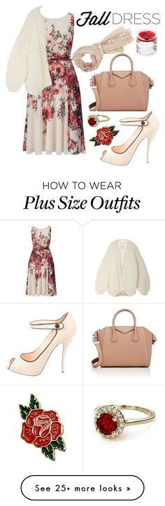 """Untitled #187"" by mydntkrl on Polyvore featuring Phase Eight, Christian Louboutin, Givenchy, I Love Mr. Mittens and Kenzo"
