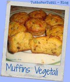 TuttoPerTutti: MUFFINS VEGETALI Deliziosa idea per la cena di stasera! Slurppp! http://tucc-per-tucc.blogspot.it/2015/06/muffins-vegetali.html