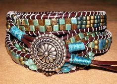 Four-wrap Boho bracelet  $52