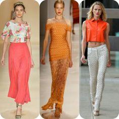 Veja tendências de moda que estarão em alta no verão 2015.