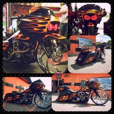 Od's cycle/913 baggers