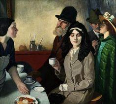 Café Bar, 1915 by William Strang (1859-1921)