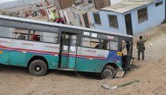 Los 41 heridos tras la caída de un bus lleno de niños en Ventanilla están fuera de peligro [FOTOS]
