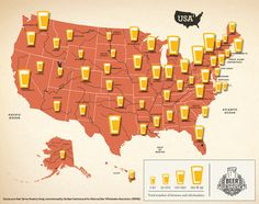 Cool Interactive Map of brewers & wholesalers per state.