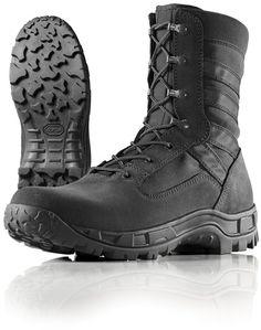 Wellco Mens 8 Inch Black Gen II Hot Weather Jungle Boots # B110