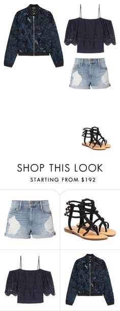 """Untitled #124"" by dyniesha ❤ liked on Polyvore featuring Frame, Mystique, Ganni and Markus Lupfer"