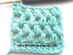 Hekel Idees: Hekelsteke: Die Pofsteek. Crotchet, Crochet Lace, Afrikaans, Crochet For Beginners, Beginner Crochet, Merino Wool Blanket, Projects To Try, Throw Pillows, Knitting