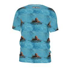 #swimwitheyesopen by #frankiet #alloverpirnt #teeshirt #tshirt #water #swimmingpool #swimming #citrusreport #@The Citrus Report