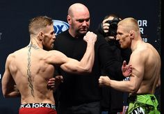 Dennis Siver facing off Conor McGregor : if you love #MMA, you will love the #MixedMartialArts and #UFC inspired gear at CageCult: http://cagecult.com/mma