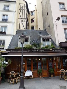 Le Petit Chatelet. Our wonderful lunch on the last full day of the trip.