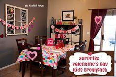 The Hankful House: Suprise Valentine's Day Breakfast