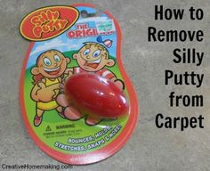 how to get slime out of carpet with rubbing alcohol