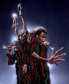 Justin Bua's A Tribe Called Quest