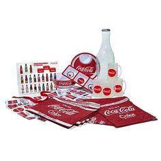 Coca-Cola Party Essentials Mini Bottles with Display