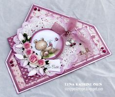Welcome to Lena Katrine`s Scrappeskreppe: GD Lili of the Valley August - 4th Project with Tutorial
