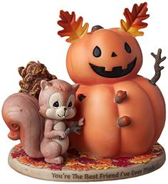 Looking for Precious Moments Squirrel Pumpkin Friend Bisque Porcelain Figurine, Multi ? Check out our picks for the Precious Moments Squirrel Pumpkin Friend Bisque Porcelain Figurine, Multi from the popular stores - all in one. Precious Moments, Halloween Ornaments, Christmas Ornaments, Squirrel Cake, Lighted Glass Blocks, Unique Cake Toppers, Birthday Cheers, Musical Snow Globes, Thanksgiving Gifts