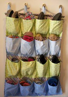 Adventures of a DIY Mom: Sew It Yourself - Shoe Organizer
