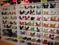 #shoe room