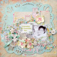 TSC Project by DT member Trudi Harrison featuring One Moment In Time and My Private Happiness collections.