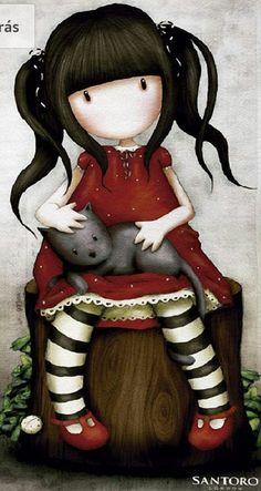 Doll Drawing, Holly Hobbie, Fantasy Paintings, Korean Art, Illustration Girl, Painting For Kids, Doll Face, Cute Drawings, Cute Art