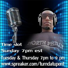 Throw back thursday on the turn dat up show on spreakers...7pm to 9pm...www.spreaker.com/turndatupent