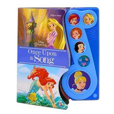 Disney Princess Play A Sound Once Upon A Song, Ariel, Merida, Snow White, Rapunzel, Cinderella...