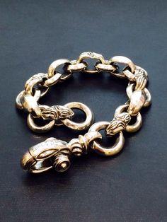 MFB-0002-S \226,800-    MF Bracelet: Carved Silk Heron - Short  大変人気の高いブレスレット。  http://ameblo.jp/loneones-blog/entry-12118061878.html
