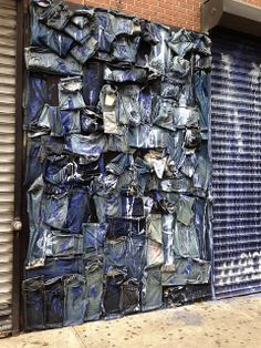 wall of blue jeans | Flickr - Photo Sharing!