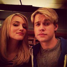 Sam and Quinn in Glee Season 4 Thanksgiving Episode