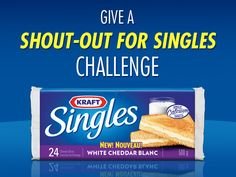 Products - Cheese & Dairy - Kraft Singles White Cheddar - Kraft First Taste Canada