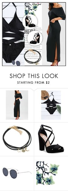 """""""Rosegal   81"""" by mell-2405 ❤ liked on Polyvore featuring Nina"""