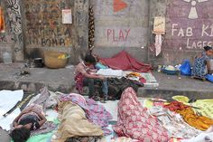 this is dangerously sleeping on the roads by firoze shakir photographerno1, via Flickr