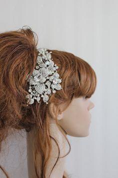 Bridal hair comb wedding hair accessory bridal by EverythingBride