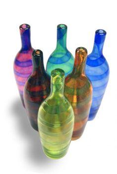 Bianco Blu - Chianti bottles, design Tarmo Maaronen, Fiskars, Finland