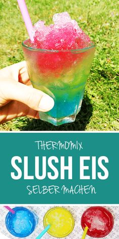 Slusheis / Slushy Which of you also loves slush ice? Especially if it is really hot outside, I could get into it. In a few seconds you have conjured up this slush ice in Thermomix. You can adjust the Slushies, Smoothie Recipes, Smoothies, Frozen Peach Bellini, Bellini Cocktail, Melting Ice Cream, Raspberry Mojito, Refreshing Summer Drinks, Mojito Recipe