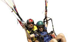 Vôos de parapente em Niterói | Pepê Paragliders