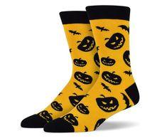 Spooky Halloween Theme Socks