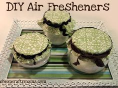 DIY Air Fresheners {easy!}