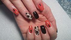 Coral Floral by nailsbykaesi - Nail Art Gallery nailartgallery.nailsmag.com by Nails Magazine www.nailsmag.com #nailart  #Acrylic #nails #boise #nampa #CALDWELL #meridian #Kuna #IDAHO #EZFLOW #nailtech #Acrylicnails #nailartist #nailpro