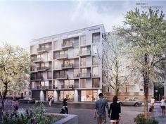 Einmal quer durch den Block - Pläne für Wohnanlage in Berlin